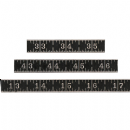 TH93682 Tim Holtz® Idea-ology™ Metal Ruler Measurements 3/Pkg